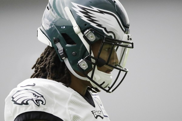 Philadelphia Eagles' Sidney Jones moves in-between drills during practice at the team's NFL football training facility in Philadelphia, Thursday, Dec. 14, 2017.