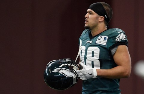 Trey Burton is leaving the Eagles for the Chicago Bears in free agency.