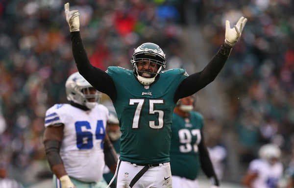 The Eagles are releasing defensive end Vinny Curry, according to a report by NFL Network. (Mitchell Leff | Getty Images)