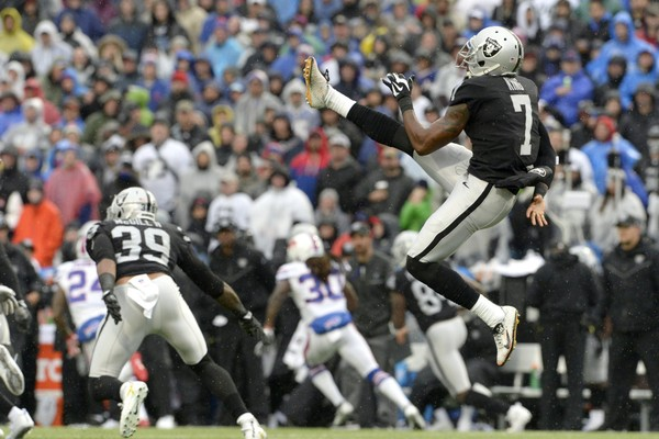 Oakland Raiders surprisingly cut punter Marquette King
