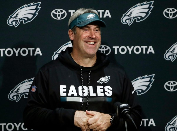 Eagles Pick Up Doug Pederson's Fifth-Year Option; Under Contract Through 2020