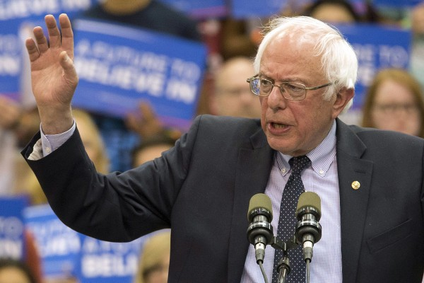 Twitter Slams Bernie Sanders For Opening First Women's Convention In 40 Years