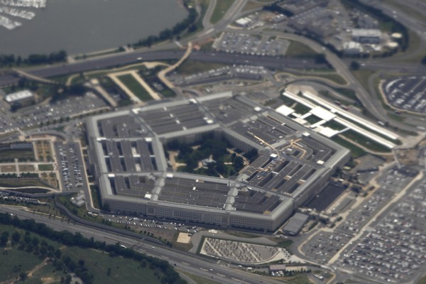 In this June 3, 2011, file photo, the Pentagon is seen from air from Air Force One. Defense Department investigators say the number of complaints filed against senior military and defense officials has increased over the past few years.