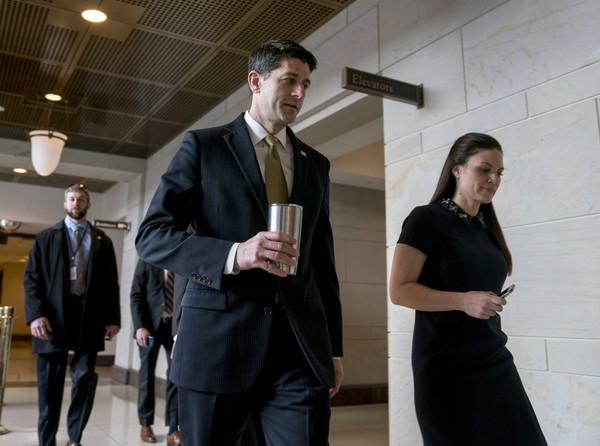 Ryan's Strategy May Be Backfiring, Earning GOP Blame for a Government Shutdown