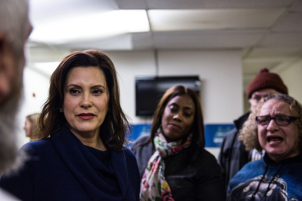 More women than ever are seeking governorships, including Gretchen Whitmer of Michigan. Photo by Ali Lapetina for The Washington Post.