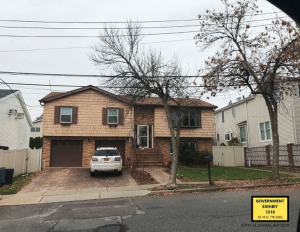 Federal prosecutors say Joe Percoco and his wife sold this modest home in Staten Island and moved to a more expensive house in Westchester County, putting a strain on their finances.