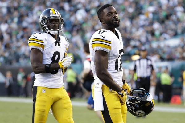 Steelers wide receiver Eli Rogers says he'll remain on punt returns in the event of Antonio Brown's return against the Jacksonville Jaguars on Sunday. (AP Photo/Chris Szagola)