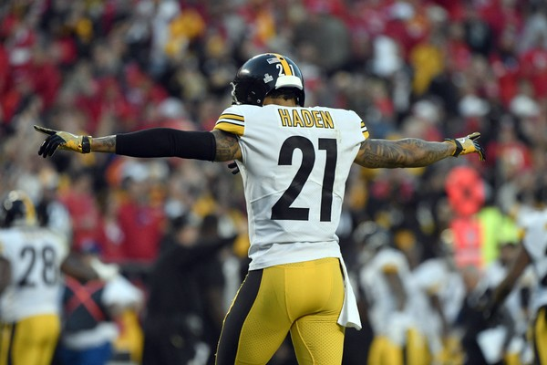 reputable site f6dd3 bbfea Joe Haden changes Steelers jersey number - pennlive.com