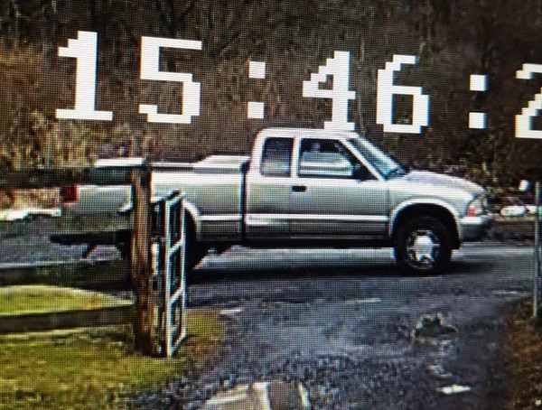 Mansfield Township police say this vehicle was involved in a pedestrian hit-and-run Jan. 23, 2018.