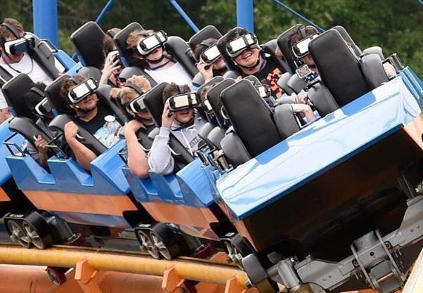 virtual reality roller coaster great escape in lake george debuts