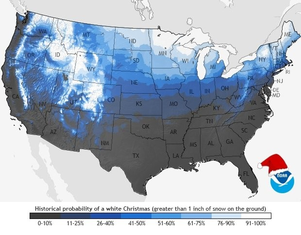 Will Upstate Ny See A White Christmas This Year