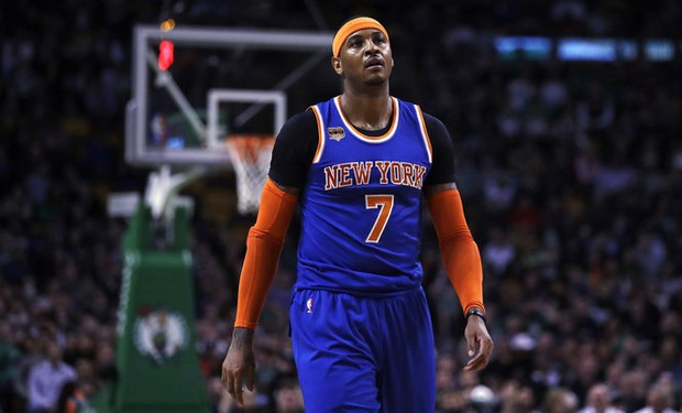 2017 NBA All-Star Game: Carmelo Anthony could get snubbed from East roster