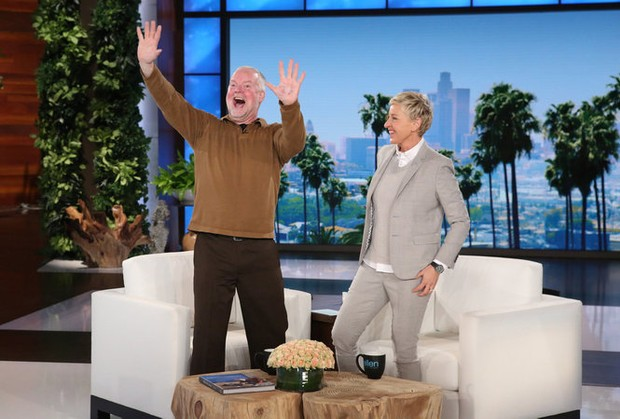 Dancing farmer from upstate ny dances on 39 the ellen degeneres show 39 - Ellen show new york ...