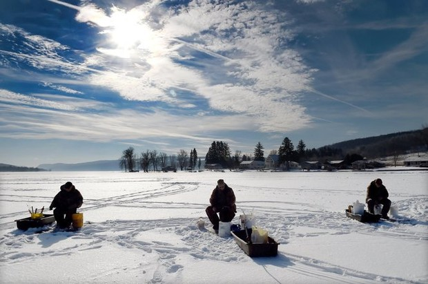 Huge crappie derby on whitney point reservoir cancelled for Ice fishing ny
