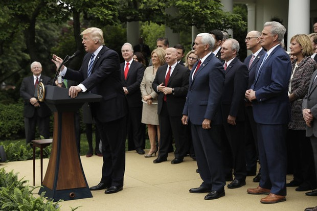 Tenney celebrates at White House after GOP starts to dismantle Obamacare