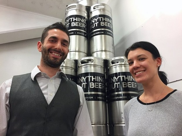 Syracuse's newest brewery makes 'Anything But Beer.' Seriously, no beer