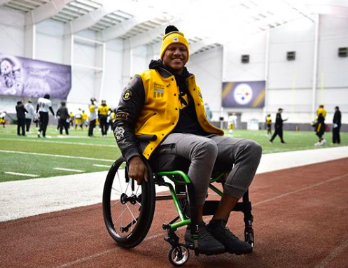 Ryan Shazier shows familiar face to Steelers at practice ...