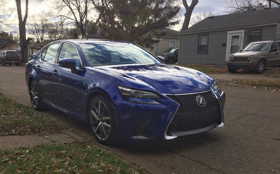 What We Liked And Didn T Like 2017 Lexus Gs350 F Sport