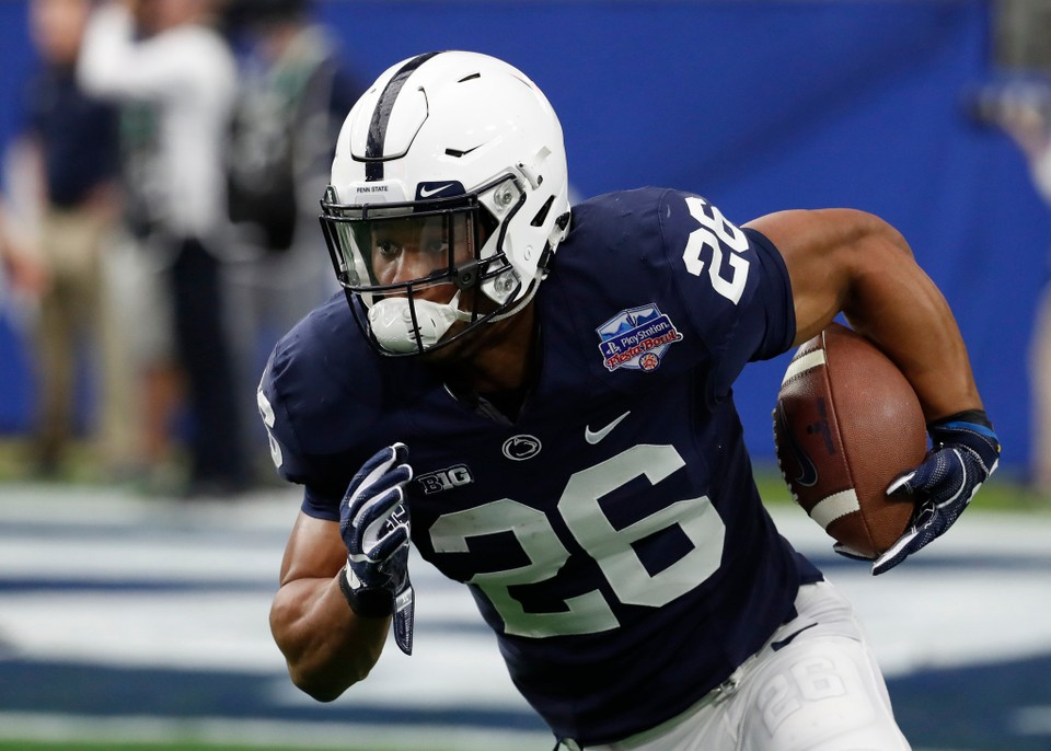 93b19296a NFL Draft 2018  9 reasons why Eagles should be happy Giants picked Saquon  Barkley