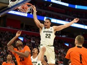 No Sweet 16 as Michigan State falls to Syracuse, 55-53