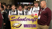 Follow our live chat from Day 1 of the high school wrestling team finals