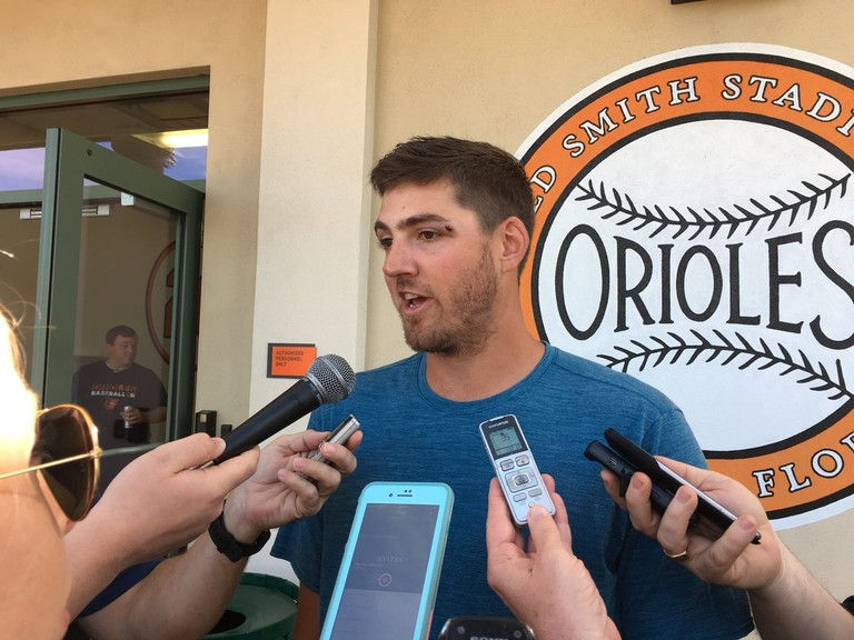 Orioles Kevin Gausman Leaves Game With Injury After Collision