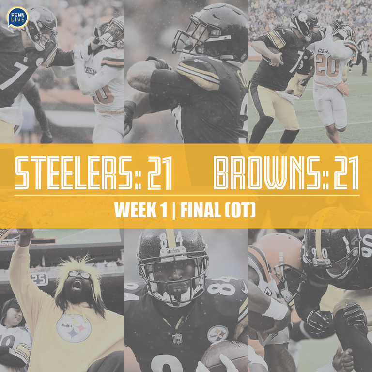 Pittsburgh Steelers At Cleveland Browns Live Score Updates