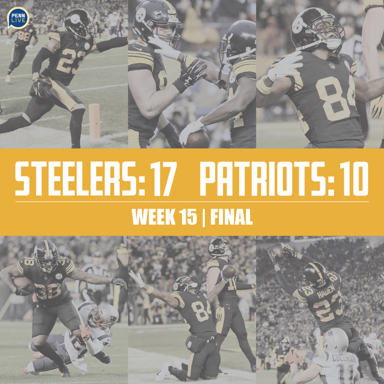 607800a5a85 Pittsburgh Steelers vs. New England Patriots  Live scores