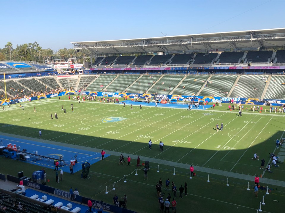 Pittsburgh Steelers at Los Angeles Chargers live score, updates