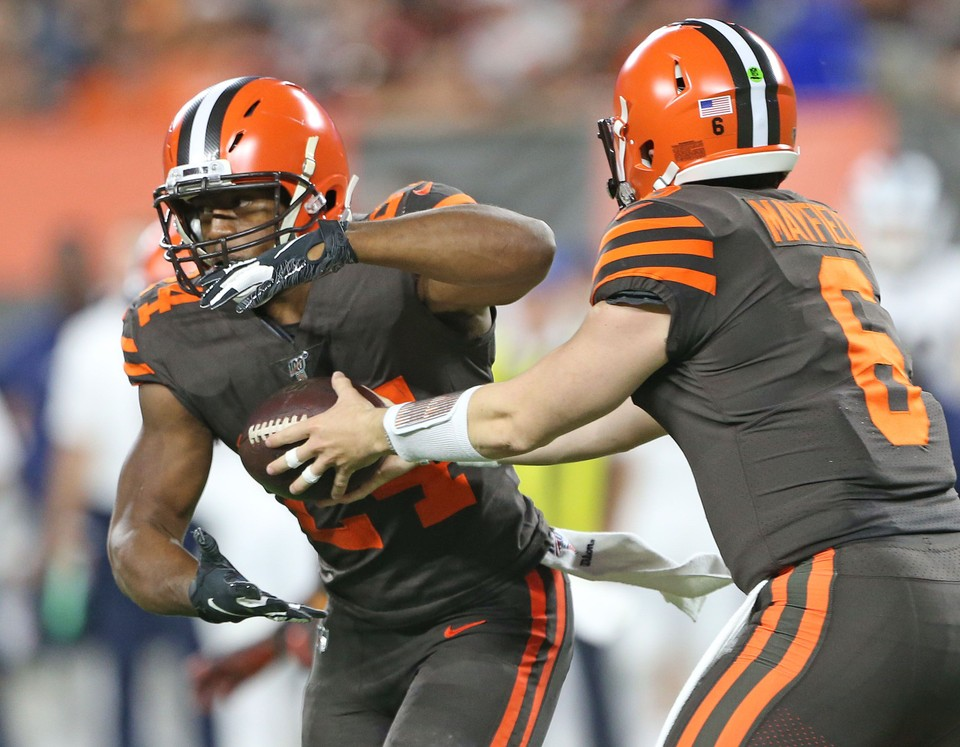 Cleveland Browns vs. Pittsburgh Steelers: live score, updates and chat