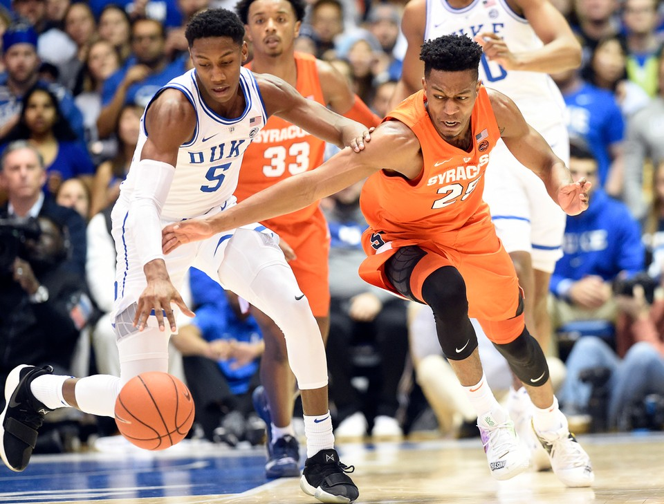 Syracuse Basketball Vs Duke Live Updates And Fan Chat With