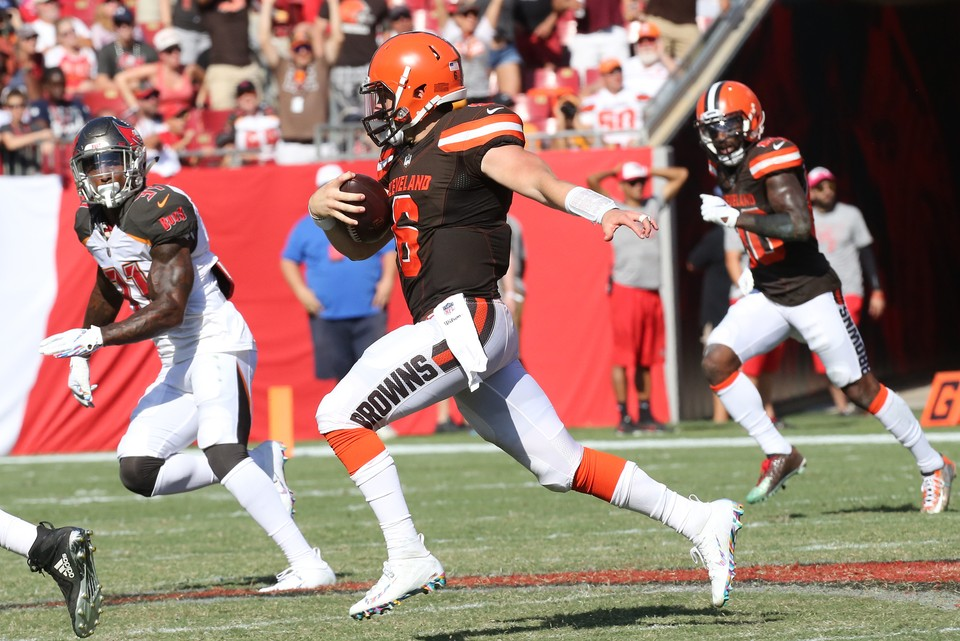 Cleveland Browns at Tampa Bay Buccaneers: live score, updates and chat